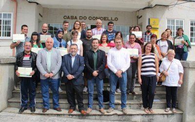 La Mancomunidade Terra Chá formó a 60 personas con un plan de empleo